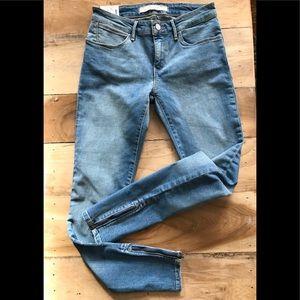 Wrangler CORYNN Cropped Zipper Skinny Jeans